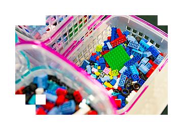 レゴ ブロックのパーツ